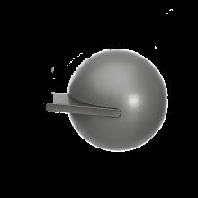 Fused Ball Steel Grey