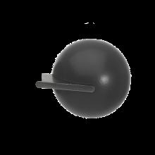 Fused Ball Black