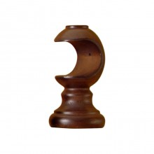 Wooden Cup Bracket Walnut - £8.72